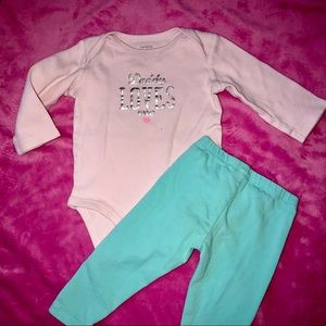 Baby Girls size 9 months outfit